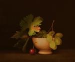 Escudella amb fruita